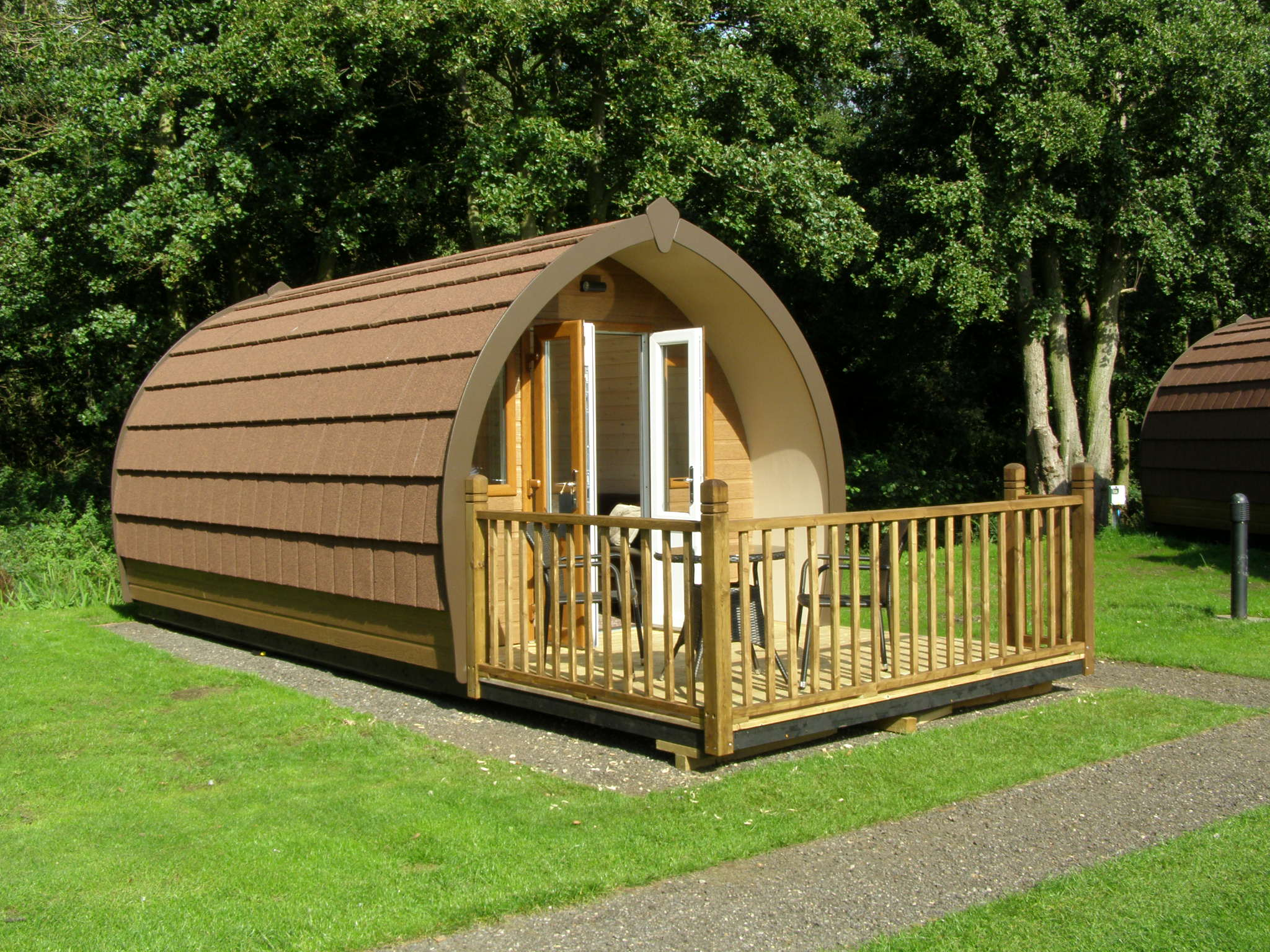 Luxury Glamping Pods Run Cottage Touring Park